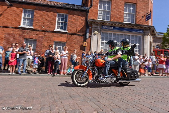 Saturday Rideout 1 - Fakenham Town Centre