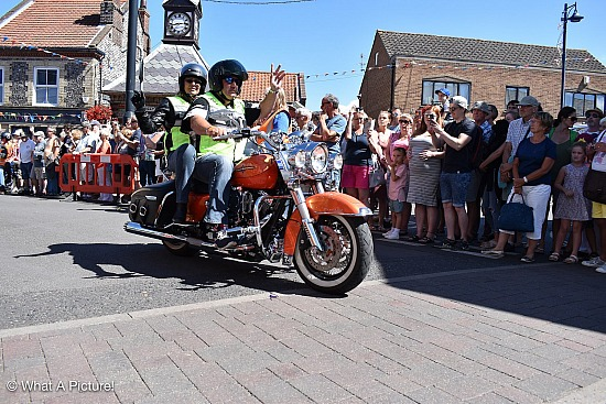 Saturday Rideout 5 - Leaving Sheringham